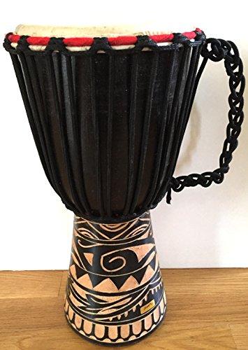 Djembe Drum African Bongo Drum Hand Drum LARGE SIZE 16