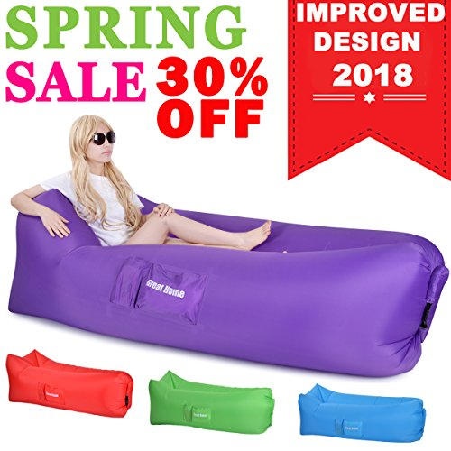 Inflatable Inflatble Loungers Inflated Portable