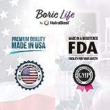 NutraBlast Boric Acid Vaginal Suppositories - 30