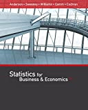 Statistics for Business & Economics (MindTap Course List)