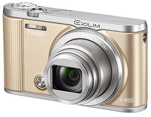 CASIO Digital camera EXILIM EX-ZR1800GD (Gold)(Japan Import-No Warranty)