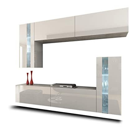 Homedirectltd Future 30 Moderne Wohnwand Exklusive Mediamobel Tv