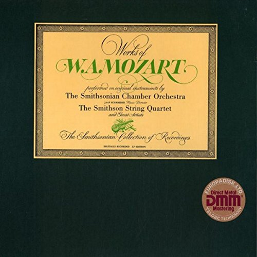 (Works Of W.A. MOZART (6xLP Box Set Direct Metal Mastering))