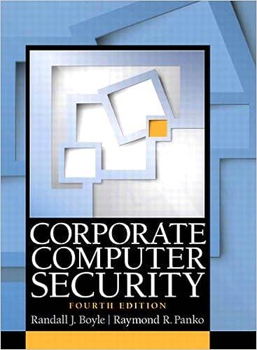 Amazon com: Corporate Computer Security eBook: Randall J