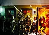 Dark souls fine art digital poster print lustrous Matte finish Size A2 poster 420 x 594 mm,16.5 x 23.4 in Tear resistant Wall art home decor perfect gift