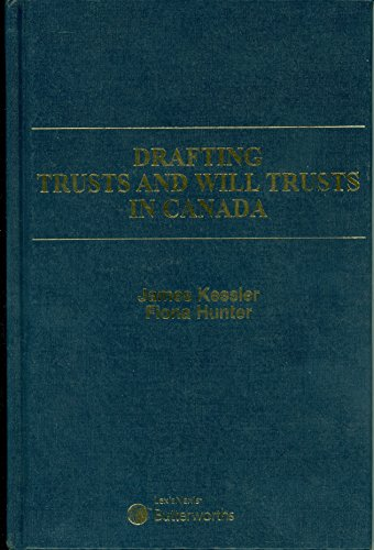 Drafting Trusts And Will Trusts In