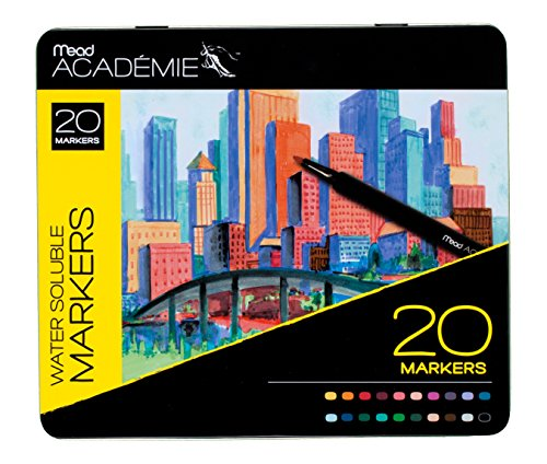 Mead Markers Academie Assorted 98028