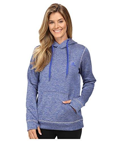 adidas Women's Team Issue Fleece Pullover Hoodie,Bold Blue/Collegiate Heather,X-Small ()
