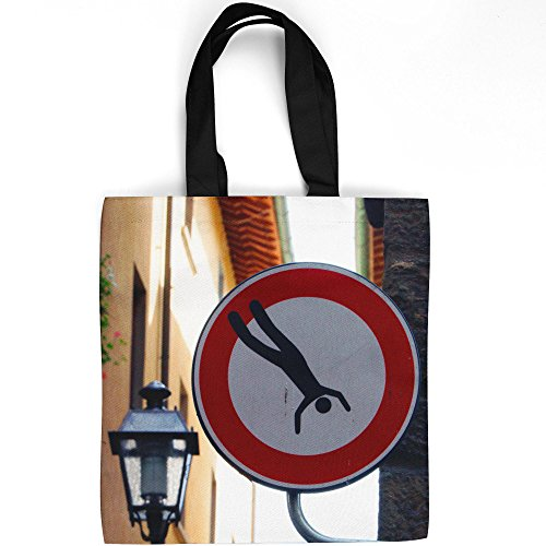 Westlake Art - Sign Light - Tote Bag - Picture Photography Shopping Gym Work - 16x16 Inch (Bed Breakfast Florence)