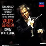 チャイコフスキー:交響曲第6番「悲愴」、幻想序曲「ロメオとジュリエット」