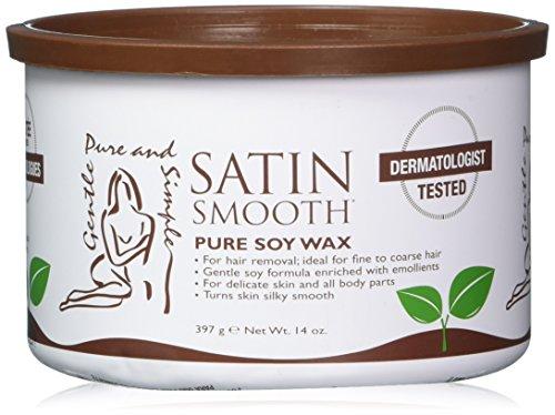 Satin Smooth Organic Soy Wax, 14 Ounce