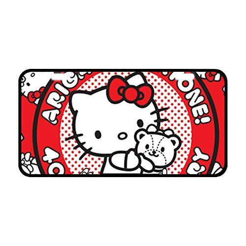 hello kitty car tag - 8