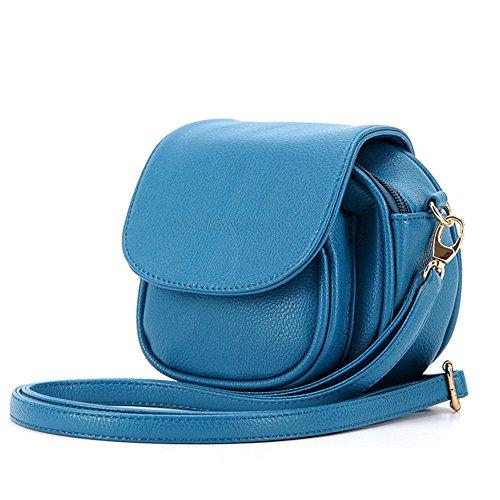 GSPStyle, Borsa a spalla donna Blu blu