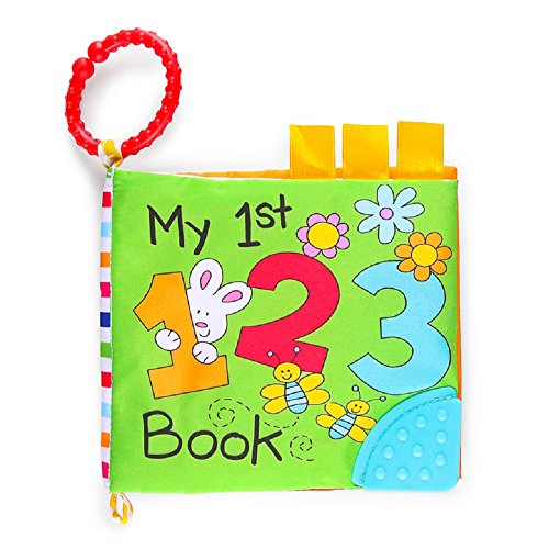 """Scholastic """"My 1st"""" ABC and 123 Crinkle Books, set of 2"""