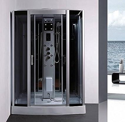 Amazon.com: Frondoso Smart ducha de vapor Enclosure con Spa ...