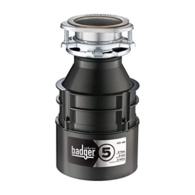 InSinkErator Badger 5, ½ HP Food Disposer