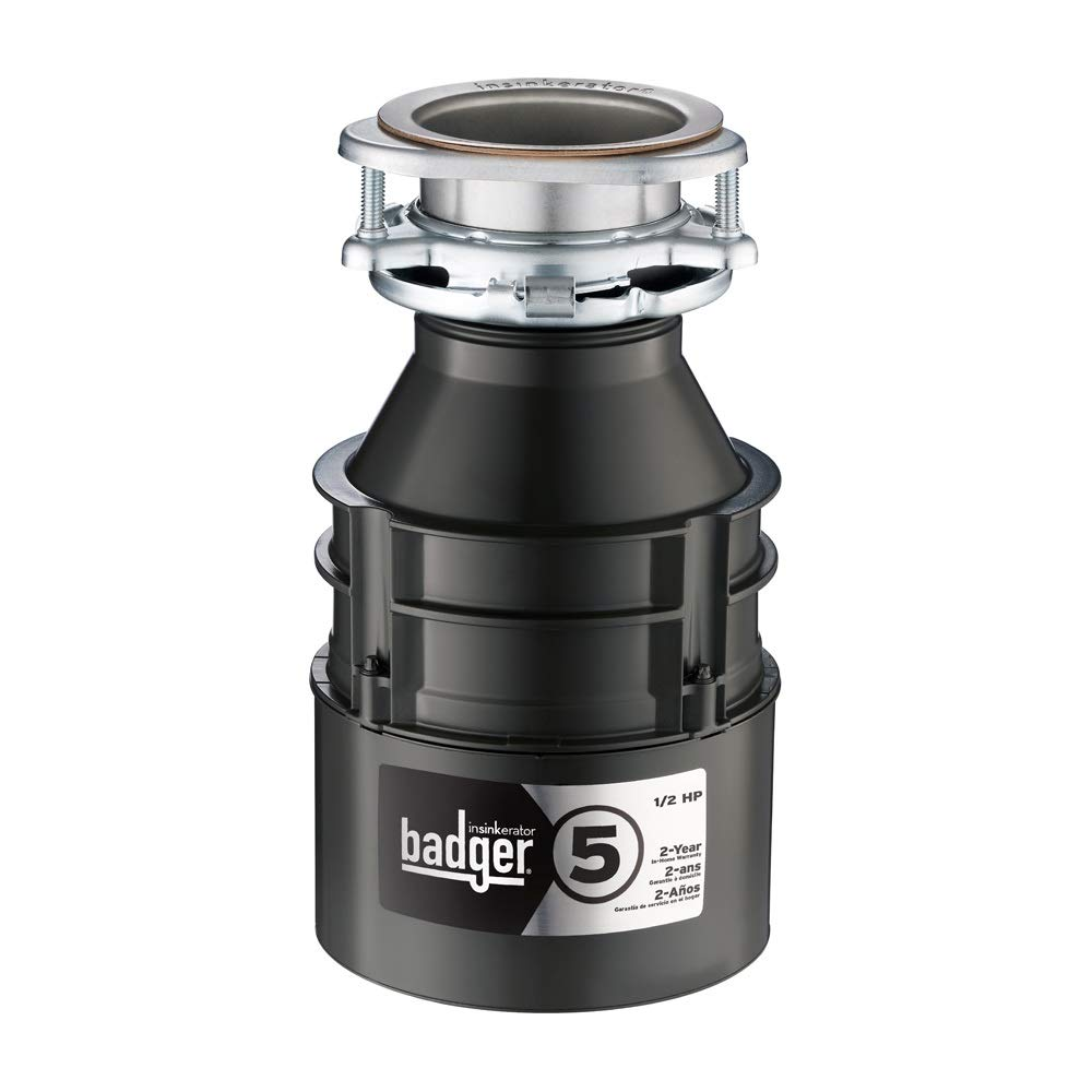 InSinkErator Badger 5, 1/2 HP Food Waste Disposer