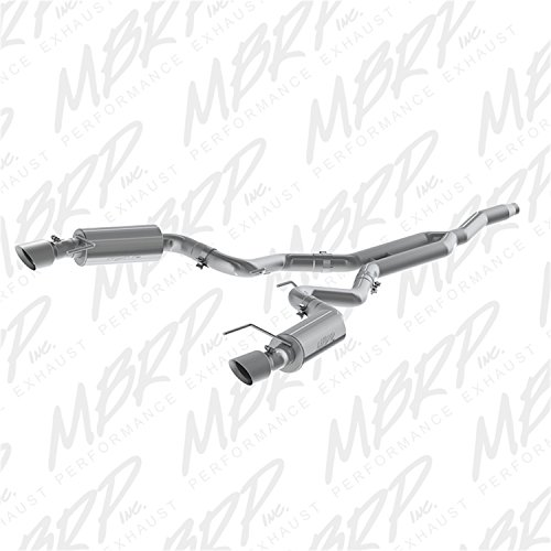 cat back exhaust system mustang - 8
