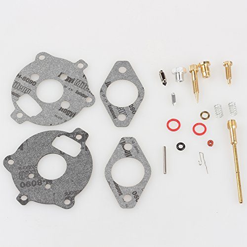 Savior Carb Rebuild Overhaul Kit for Briggs & Stratton Carburetor 394693 398235 295938 291763 Snowthrower - Carburetor Flange Mount