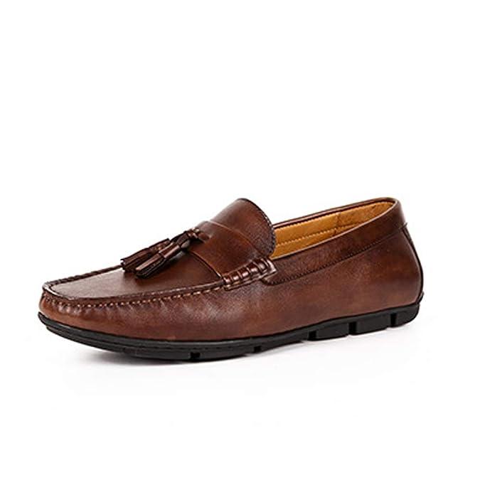 Zapatos nuevos for Hombres Mocasines con borlas clásicas ...