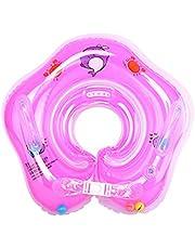 Xueliee Flotador de natación para bebé con toldo inflable para piscina, flotador de barco,