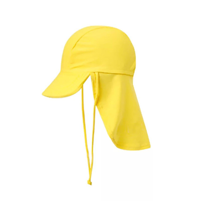 GAOU Kids Baby Legionnaire Stretch Beach Hat Swim Sun Hat UV Sun Protection Flap Cap For Travel Outdoor