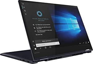 "2019 Lenovo Yoga 730 2-in-1 15.6"" FHD IPS Touch-Screen Premium Laptop, Intel Quad Core i5-8265U Upto 3.9GHz, 12GB RAM, 256GB PCIe SSD, Backlit Keyboard, Fingerprint Reader, Windows 10, Abyss Blue"