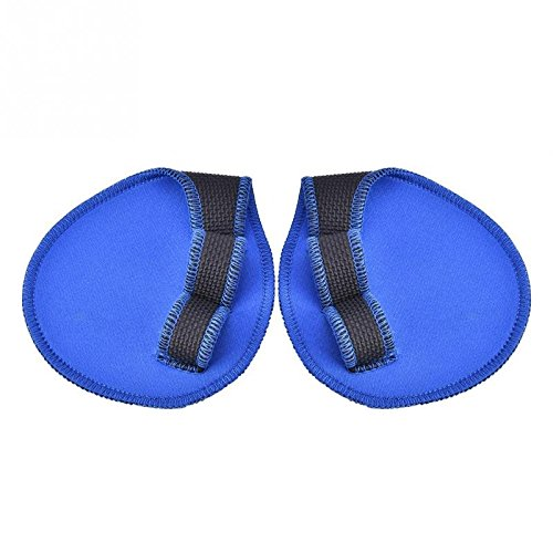 Blue Stones 1 Pair Unisex Weight Lifting Training Gloves Women Men Fitness Sports Body Building Gymnastics Grips Gym Hand Palm Protector