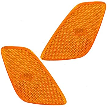 Depo 333-1410L-US Jeep Wrangler Driver Side Replacement Side Marker Lamp Unit without Bulb
