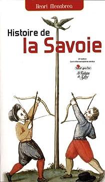 Histoire de la Savoie par Ménabréa