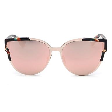 Smileyes Damen Fashion Sonnenbrillen UV400 Retro Vintage Style Unisex #TSGL023 (Rosa) K8bhzRU