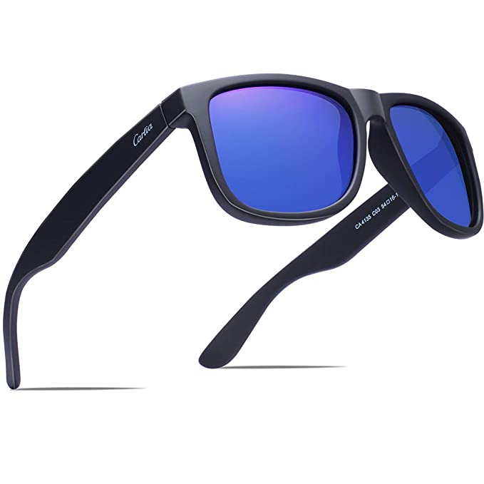 a10f309f723 Carfia Polarized Sunglasses for Women and Men Driving Travelling Hiking  Golfing
