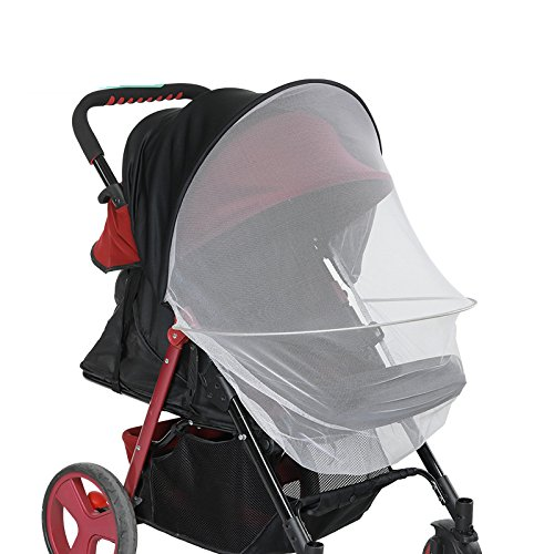 O2 Tech 2-in-1 Baby Stroller Sun Shade&Mosquito Net Awning Waterproof And Windproof Anti-UV Umbrella Canopy Universal Fit For Stroller by O2 Tech