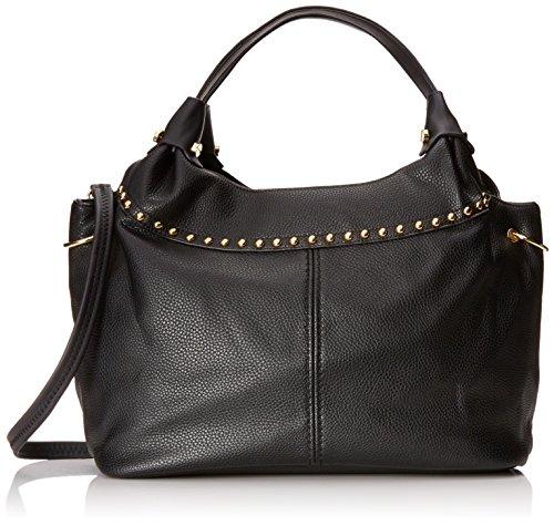 MG Collection Adora Studded Shoulder Bag