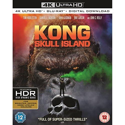 Kong: Skull Island (4K Ultra HD + Blu-ray + Digital Copy) [2017]