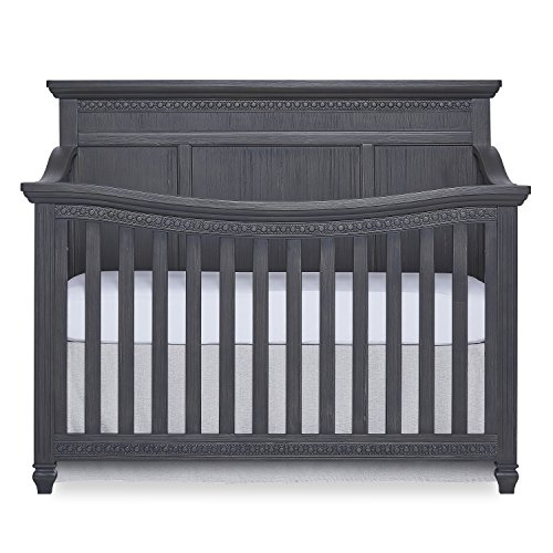 Evolur Madison 5 in 1 Flat Top Convertible Crib