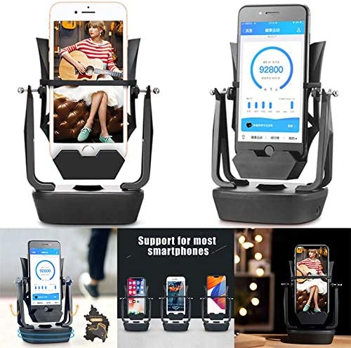 Fxhan Phone Shaker Back Front Type Steps Earning Mute Mobile Phone Swing Device