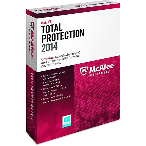 McAfee Total Protection 2015 2016 Upgrade