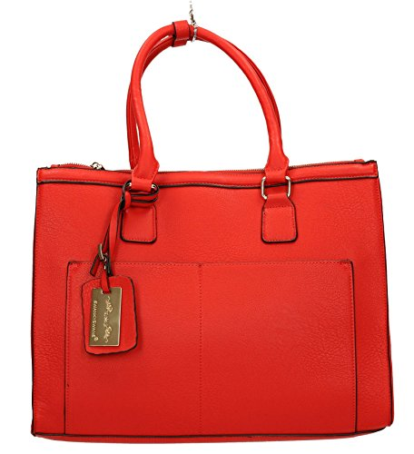 SwankySwans - Borse a spalla donna Red