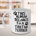 Tibetan Terrier Mug - White 11oz Ceramic Tea Coffee Cup - Perfect For Travel And Gifts 8