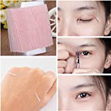 double sided eyelid tape - DZT1968 5 Sheet/230 bars charmful Natural Invisible Fiber Double Side Adhesive Eyelid Stickers Technical Eye Tapes