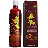 Moroccan Oil Smoothing Shampoo Argan Oil Shampoo, Sulfate Free, 8 oz. - With Argan, Jojoba, Avocado, Almond, Peach Kernel, Camellia Seed, and Keratin - 100% Safe for Color Treated Hair - For Men, Women, and Teens - All Hair Types - Most Beneficial Haircare Product Available