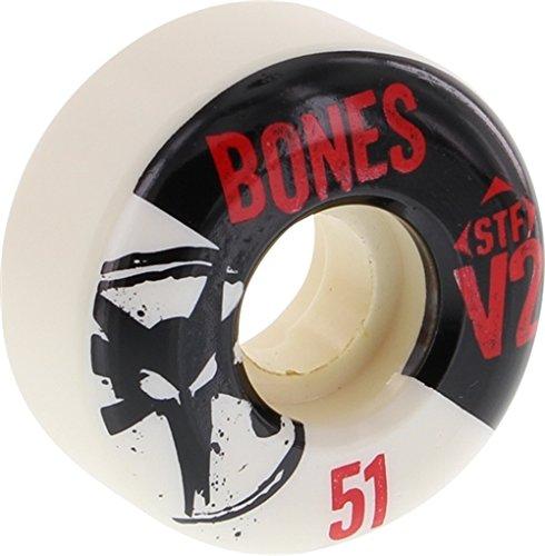 Bones Wheels Street Tech Formula Thin Skateboard Wheels - 51mm 83b (Set of - Skate Mm Wheels 51