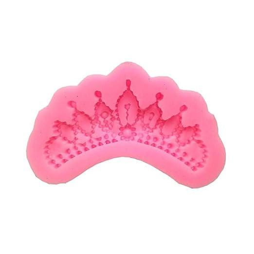 Outflower Queen Molde de silicona con forma de corona para horno ...