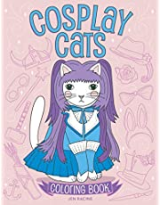 Cosplay Cats Coloring Book: Cute Cats in Costumes