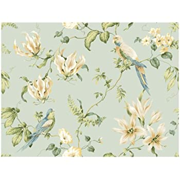 COLORFUL BIRDS pattern Wallpaper Removable wallpaper