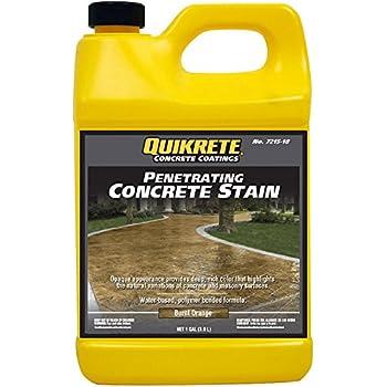 Amazon Com Quikrete Penetrating Concrete Charcoal Gal