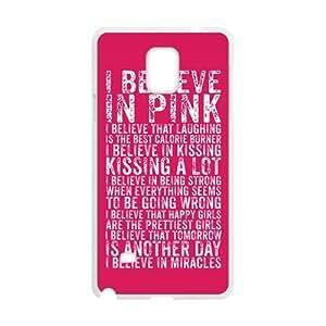 i believe in pink Phone Case for Samsung Galaxy Note4 Case WANGJING JINDA
