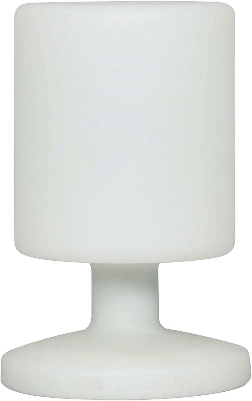 Ranex 10.068.38 - Lámpara de mesa LED – Batería – Plástico – Apta para exterior (5000.472)