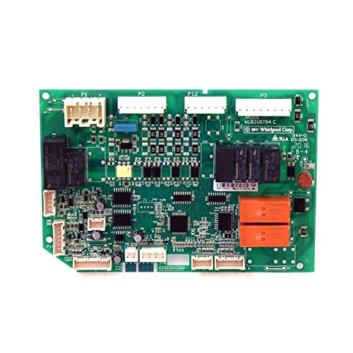 Whirlpool W10743957 Refrigerator Electronic Control Board Genuine Original Equipment Manufacturer (OEM) - Control Electronic Whirlpool Refrigerator